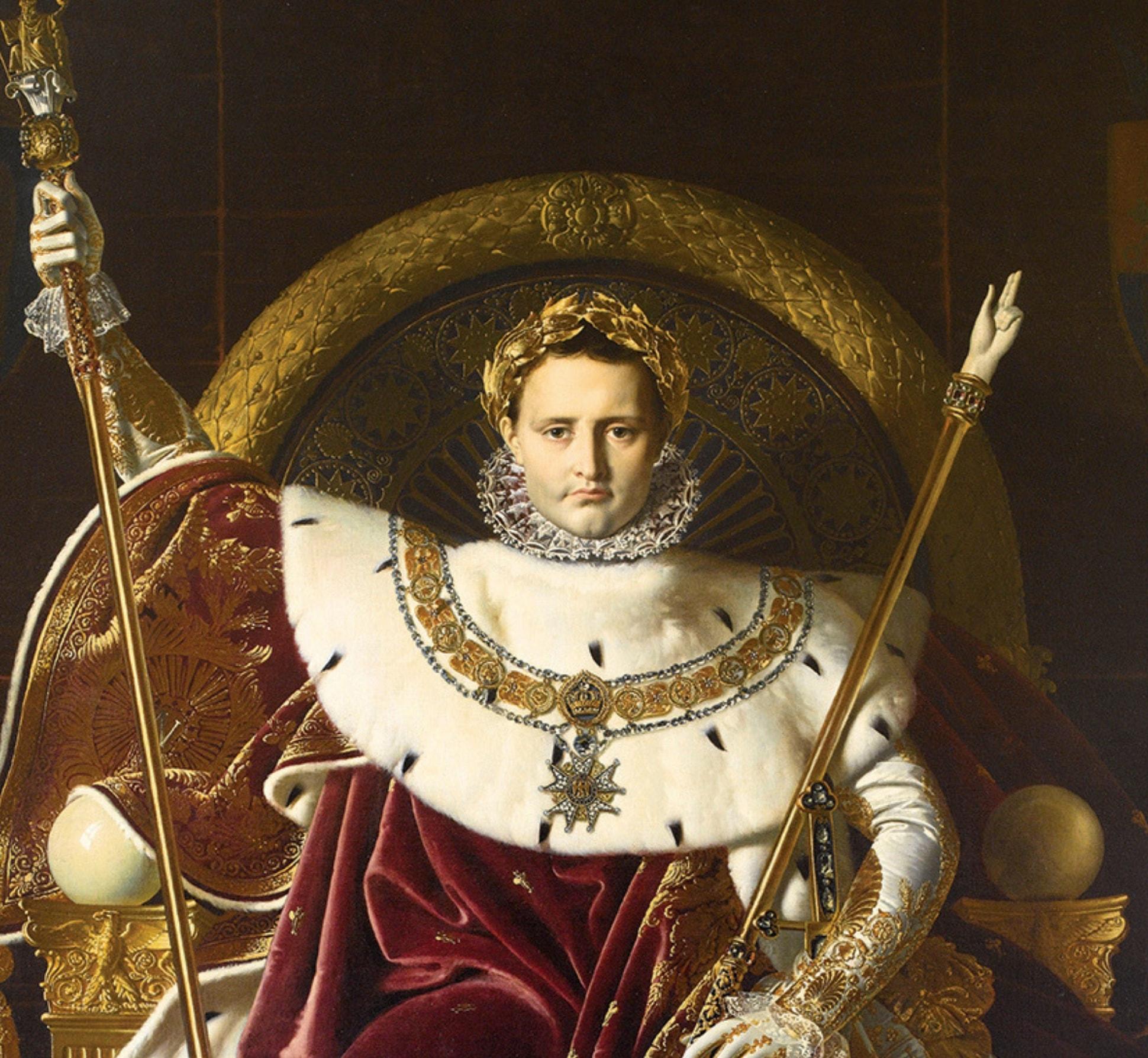 e la vita artistica ai tempi di Napoleone