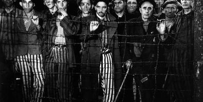 Buchenwald, 1945. © Images by Margaret Bourke-White. 1945 The Picture Collection Inc. All rights reserved